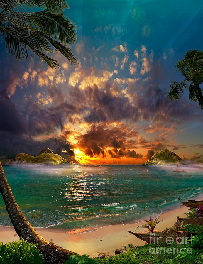 Breath Of Heaven Painting by Satoshi Matsuyama
