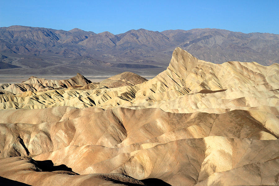 Death Valley Photograph - Breath Taking Landscape Of Zabriskie Point by Pierre Leclerc Photography