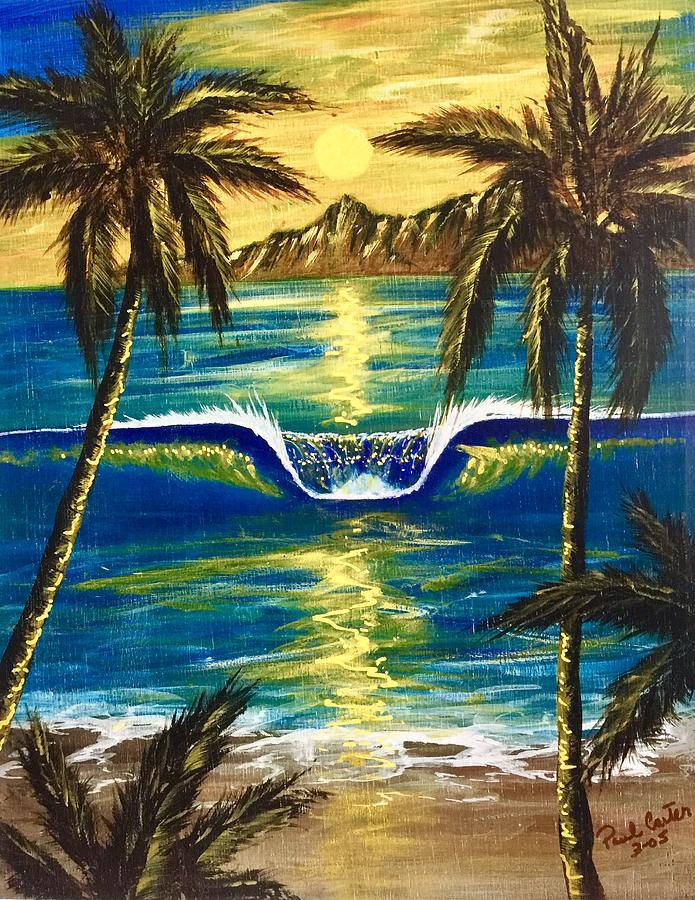 Tropical Painting - Breathe In The Moment by Paul Carter