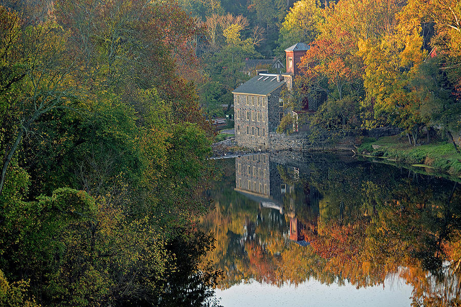 Wilmington Photograph - Brecks Mill by Michael Joos