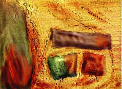Abstract Digital Art - Breeding by Richard Spezzano