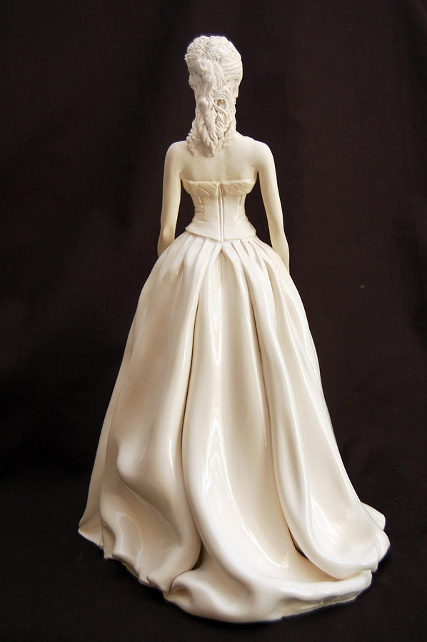 Sculpture Sculpture - Brees Bridal Gown Back by Gay Henderson