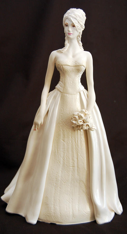 Sculpture Sculpture - Brees Bridal Gown by Gay Henderson