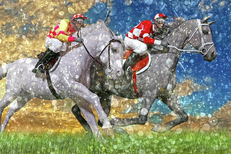Horse Digital Art - Breeze by Betsy Knapp