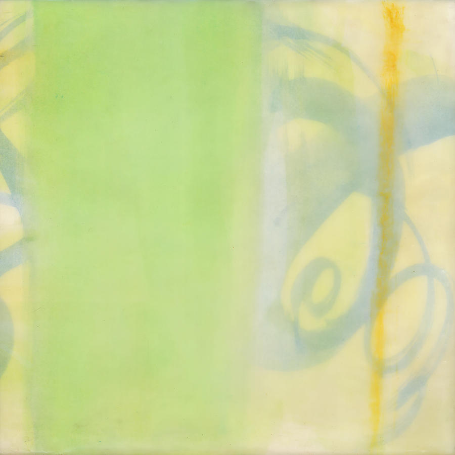 Abstract Paintings Painting - Breeze On - 2 by Sally  Tuttle