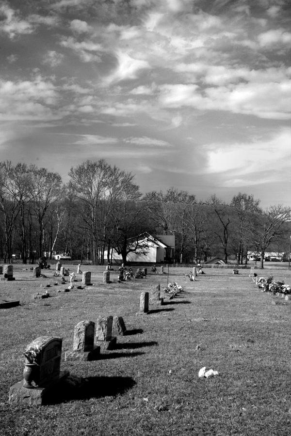 Ansel Adams Photograph - Brentway-cemetery by Curtis J Neeley Jr