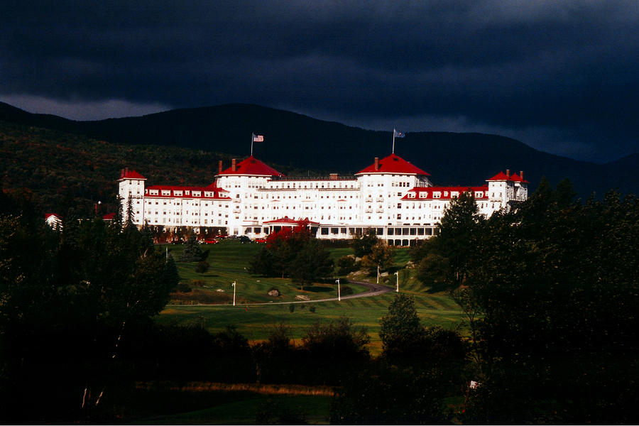 Bretton Woods Photograph - Bretton Woods by Greg Fortier