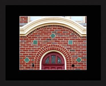 Brick Photograph - Brick Arches 2 by Brooke Chao