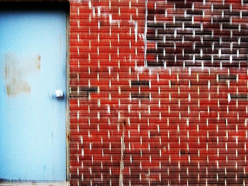Brick Blue Photograph by J Son