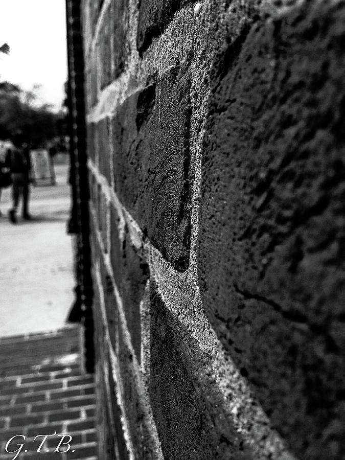 Bricks Photograph - Brick Wall by Garrett Blum