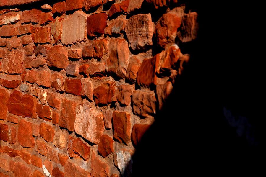 Landscape Photograph - Brick Wall by Jennilyn Benedicto