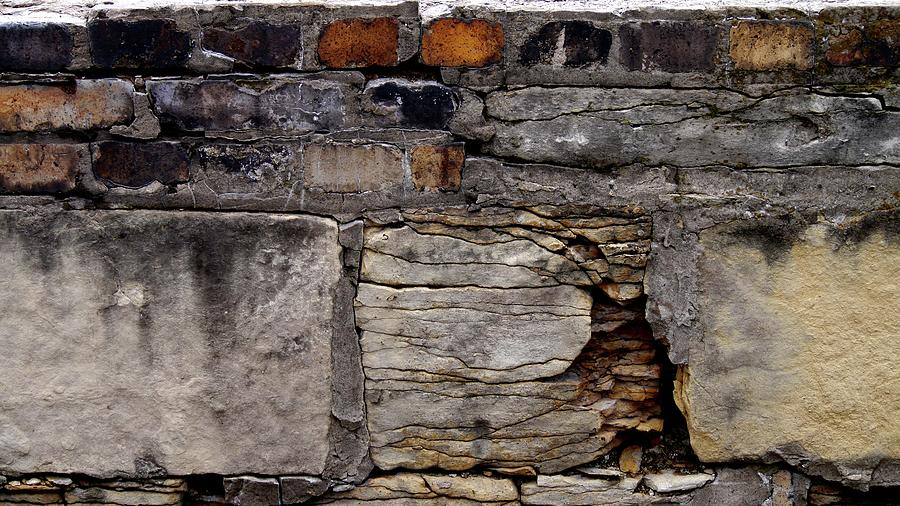 Tiwago Photograph - Bricks And Blocks by Tim Good