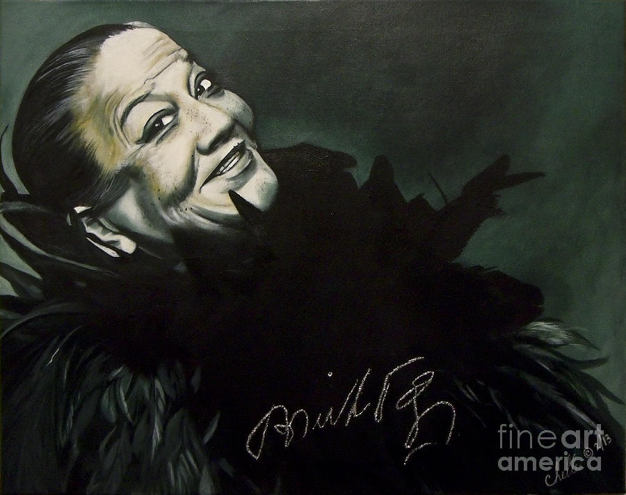 Painting Painting - Bricktop Ada Smith by Chelle Brantley