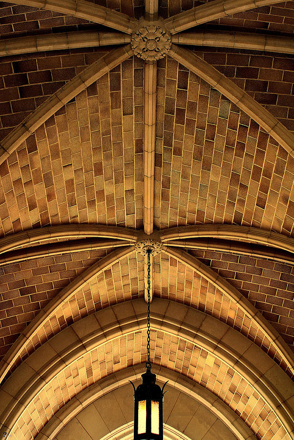 Berry College Photograph - Brickwork Details by Jason Blalock