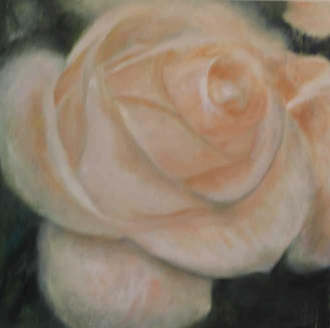 Bridal Blush Painting by Selma Cooper