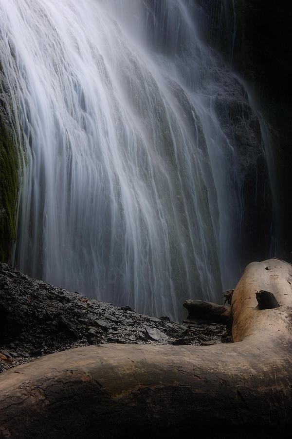 Waterfalls Photograph - Bridal Falls by Naman Imagery