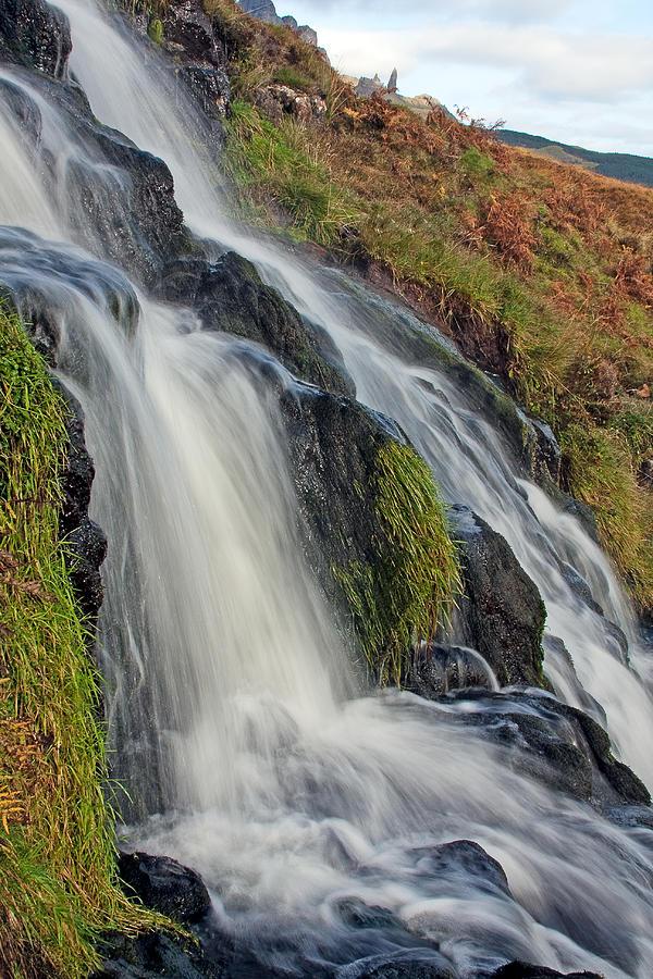 Scotland Photograph - Bridal Veil Falls by Colette Panaioti
