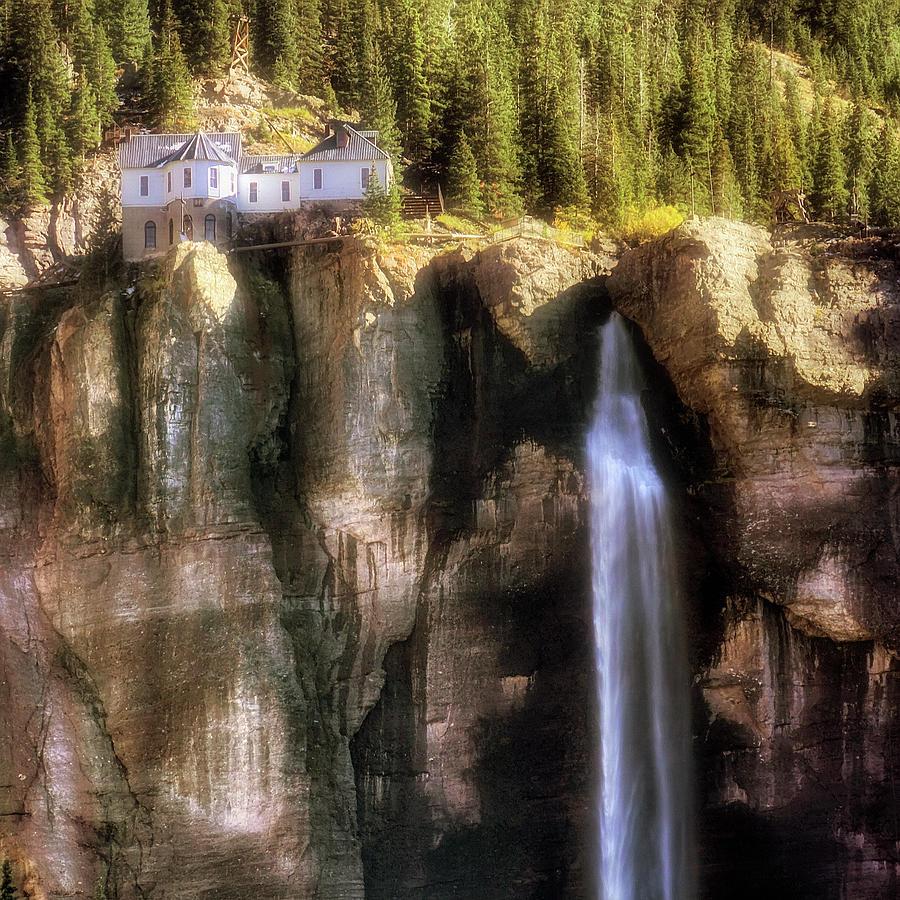 Colorado Photograph - Bridal Veil Falls Power Plant - Telluride - Colorado by Jason Politte