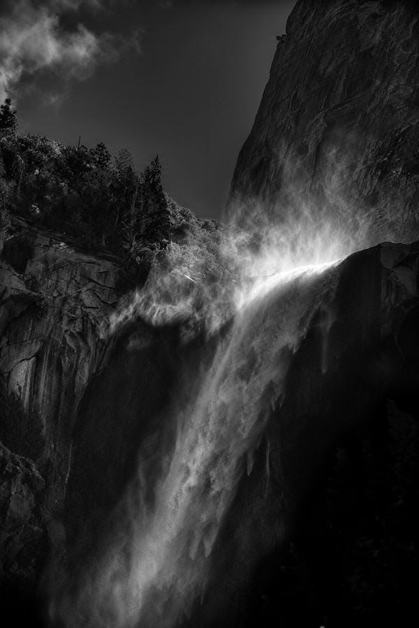 Bridalveil Falls Photograph - Bridalveil Falls-yosemite by Jim Dohms
