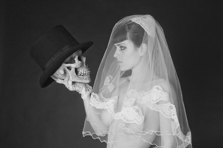 Nude Photograph - Bride And Groom by MAX Potega