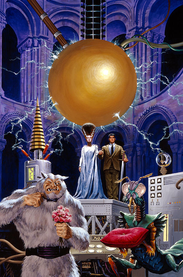 Bride Of The Castle Painting By Richard Hescox