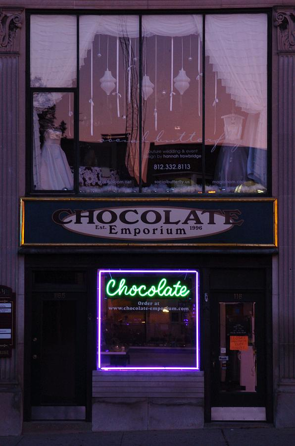 Chocolate Photograph - Brides And Choloate In The Morning by Jon Benson