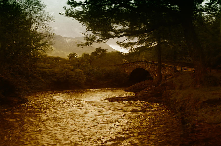 Bridge Painting - Bridge At The River Coe by Mark Denham
