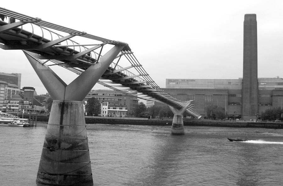 London Photograph - Bridge For You by Jez C Self