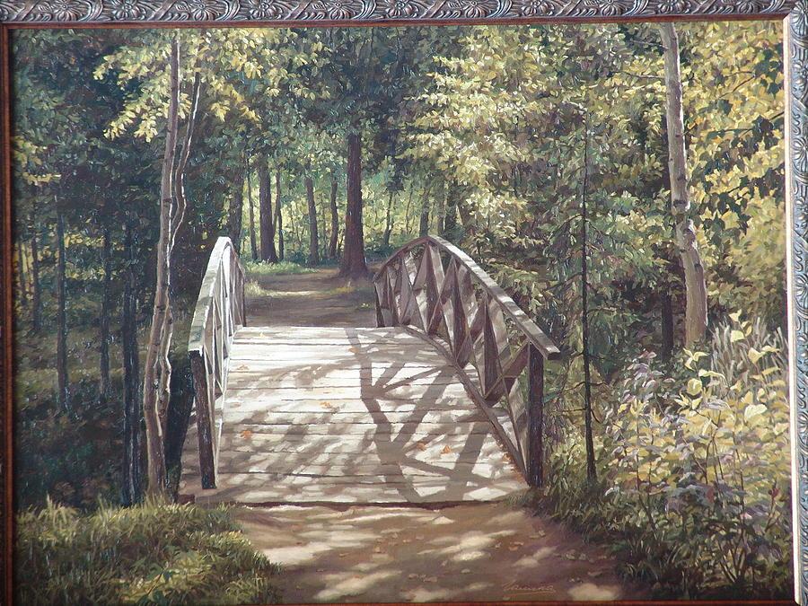 Bridge Painting - Bridge by Galina Grigorovich