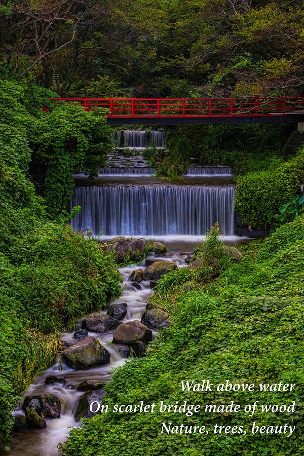 Bridge Photograph - Bridge Haiku by Leonard Sharp