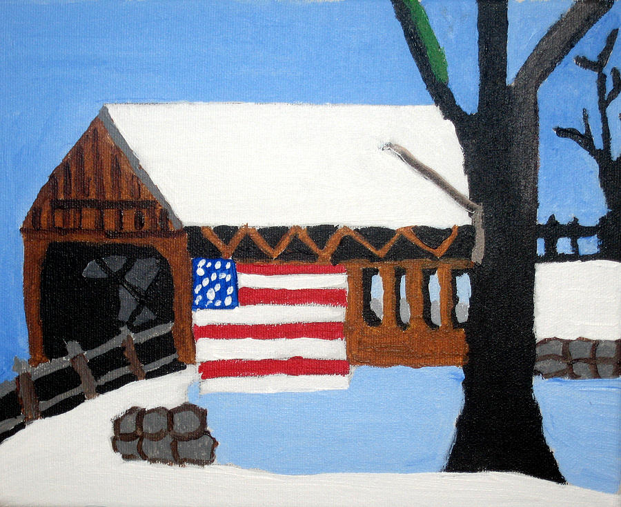 Bridge Painting - Bridge by Jeff Caturano