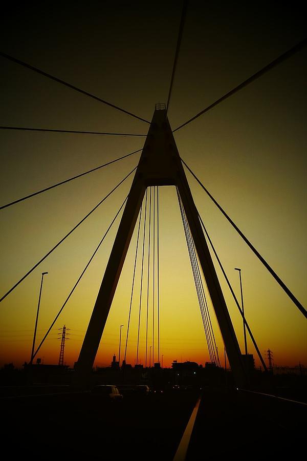 Bridge Digital Art - Bridge by Kumiko Izumi