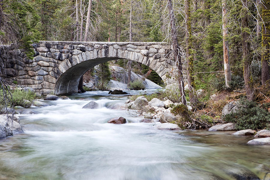 Sequoia National Park Photograph - Bridge N Creek by Rick Pham