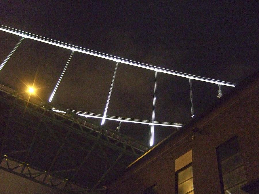 Night Photograph - Bridge No 1 by Dan Andersson