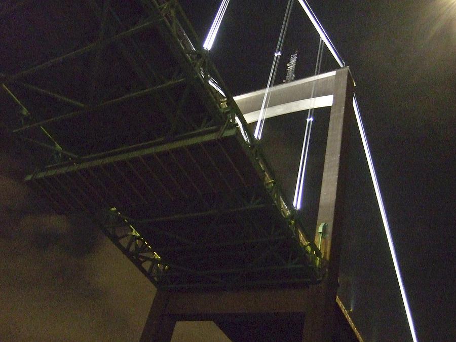 Night Photograph - Bridge No 2 by Dan Andersson