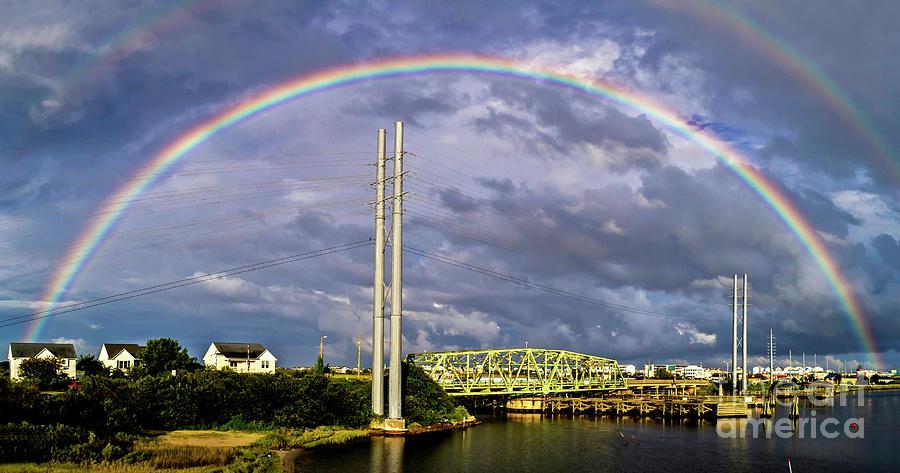 Surf City Photograph - Bridge Of Hope by DJA Images