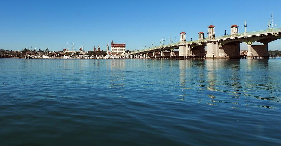 Bridge of Lions, St. Augustine by Rod Seel