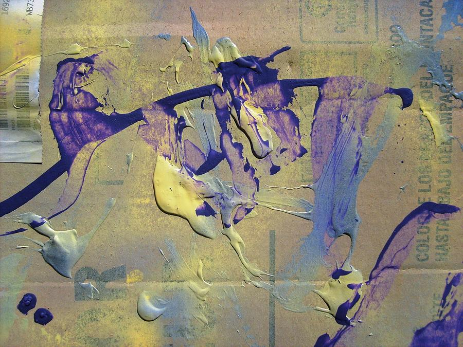 Abstract Painting - Bridge Of Old Hag Troll by Bruce Combs - REACH BEYOND