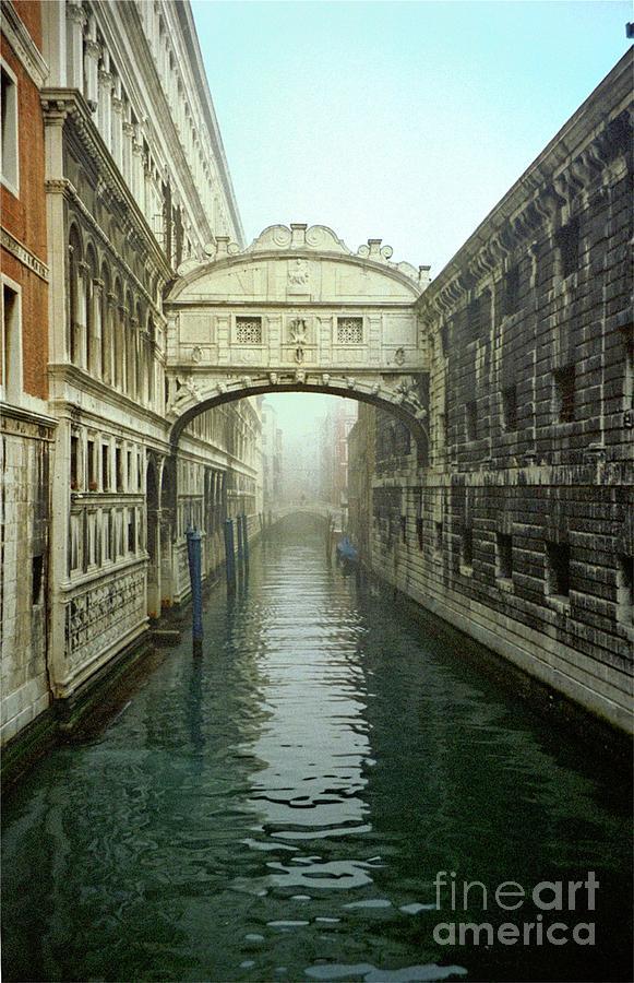 Venice Photograph - Bridge Of Sighs In Venice by Michael Henderson
