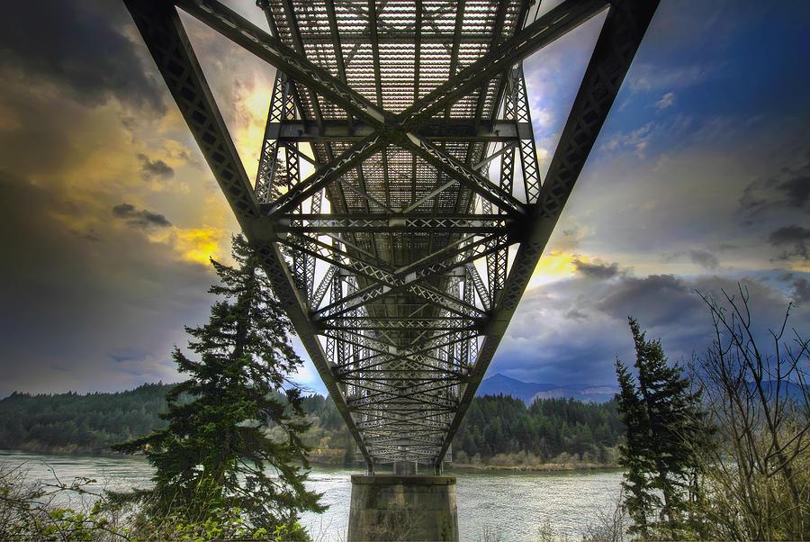 Bridge Of The Gods Photograph - Bridge Of The Gods by David Gn