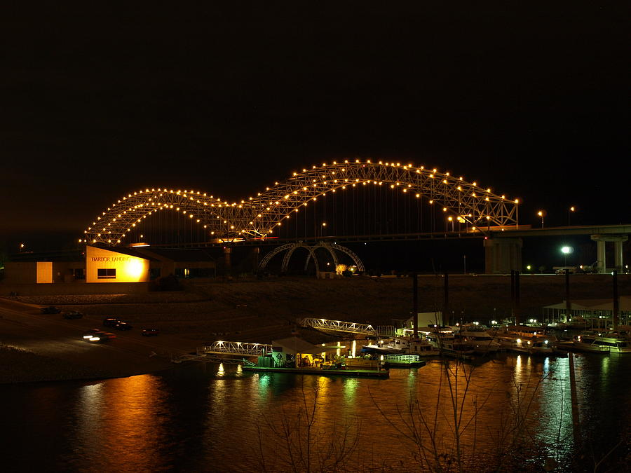 Bridge Over Mississippi River At Memphis Tennessee