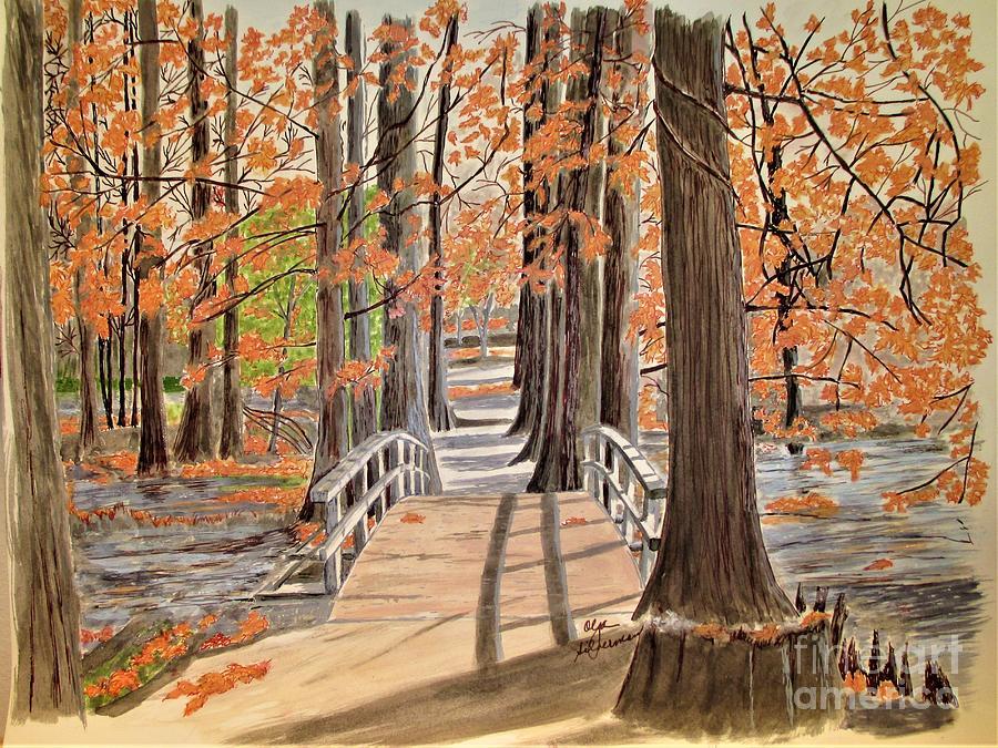 Bridge Over Quiet Water by Olga Silverman