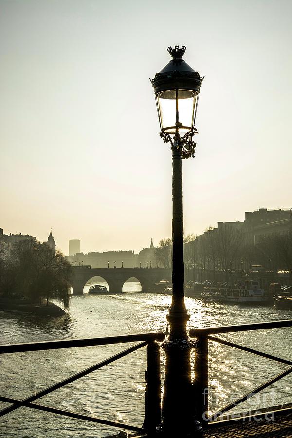 Water Photograph - Bridge Over The Seine. Paris. France. Europe. by Bernard Jaubert