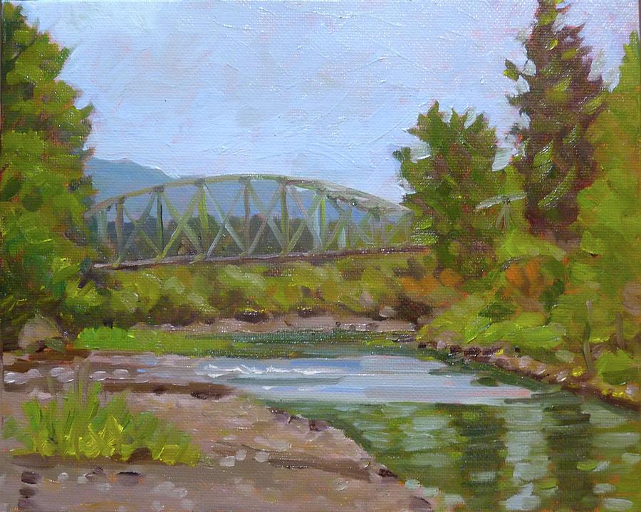 Bridge over Tolt River by Stan Chraminski
