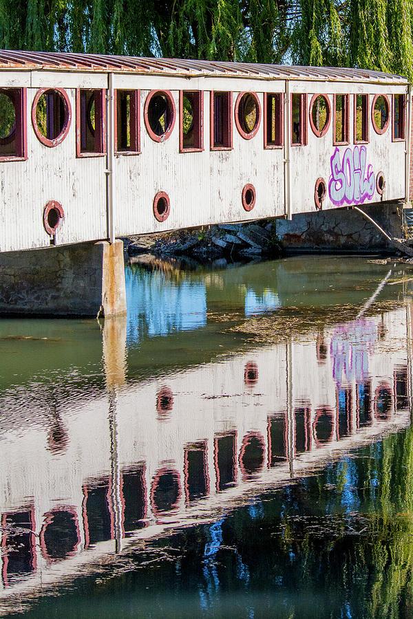 Bridge Reflection by Chita Hunter