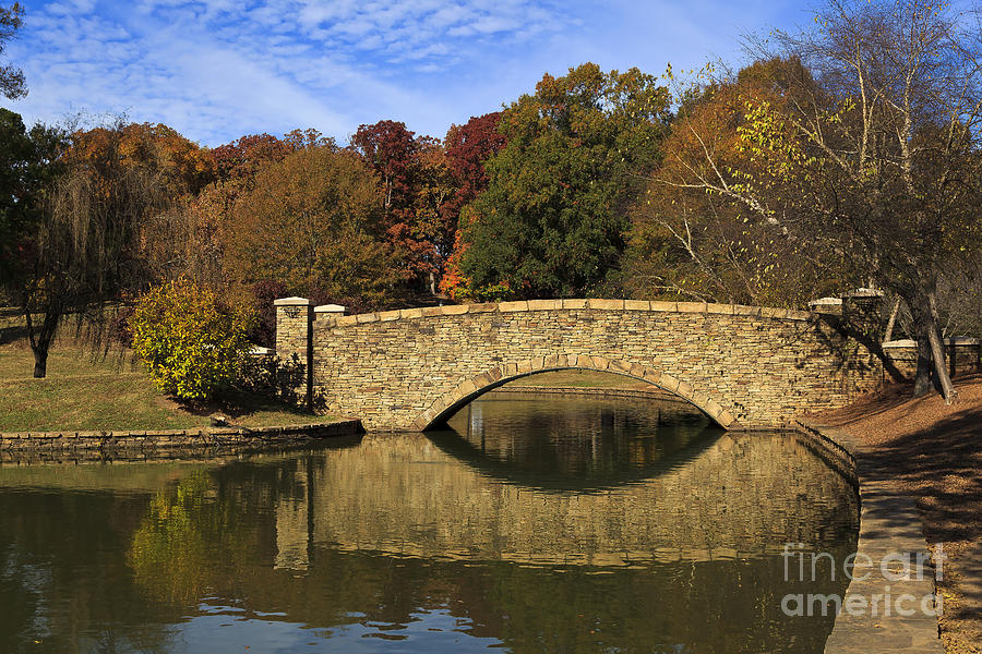 Freedom Photograph - Bridge Reflection by Jill Lang
