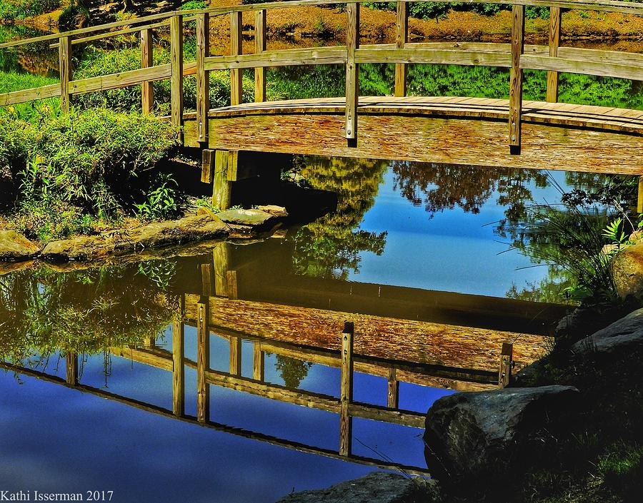 Baltimore Photograph - Bridge Reflections by Kathi Isserman
