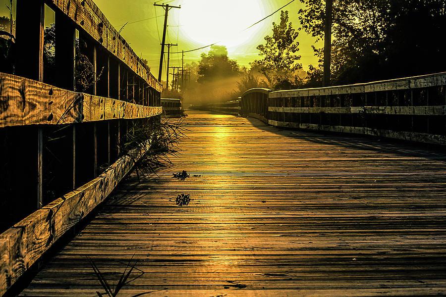 Bridge Sunset View Photograph