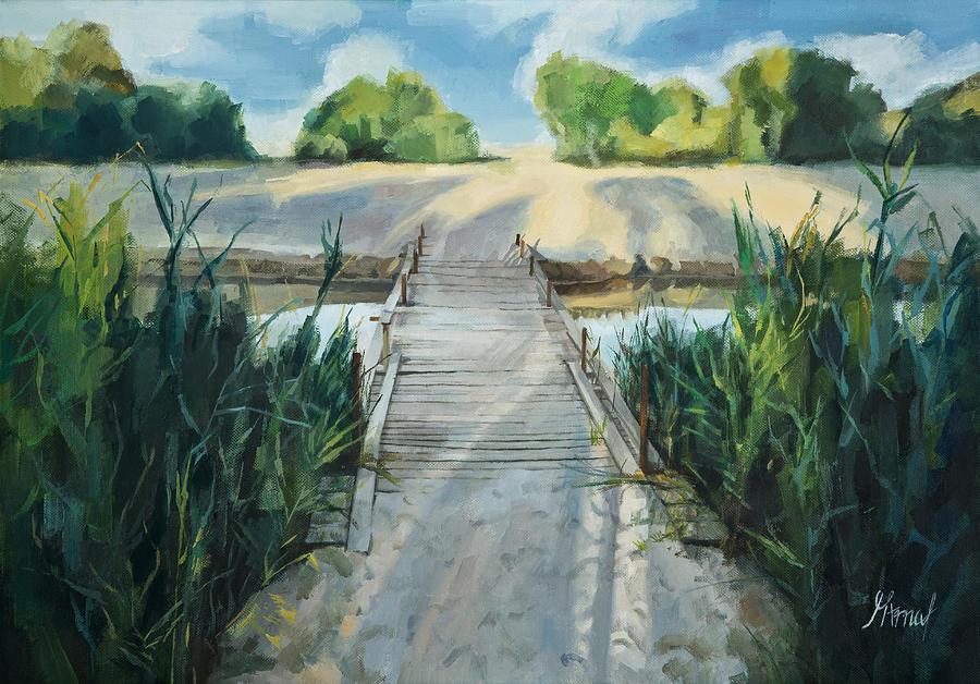 Bridge To Beach by Maria Arnaudova