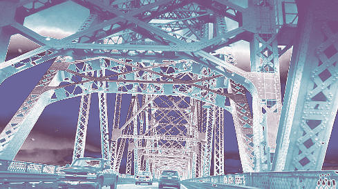 bridge to Longview #1 by Anne Westlund